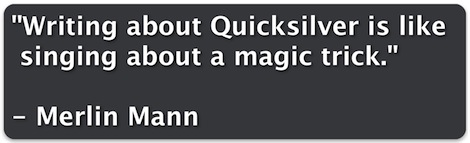 Merlin Mann on Quicksilver Screencasts